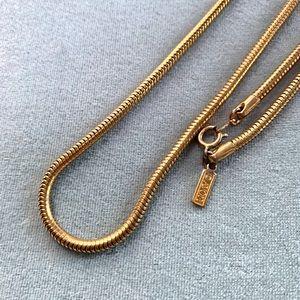 ⭐️2 for $10 Avon Vintage Gold Round Chain